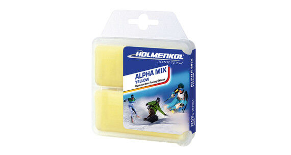 Holmenkol Alphamix Base Wax 2x35g Yellow